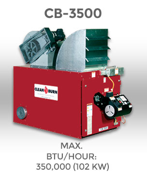 Теплогенератор Clean Burn CB-3500